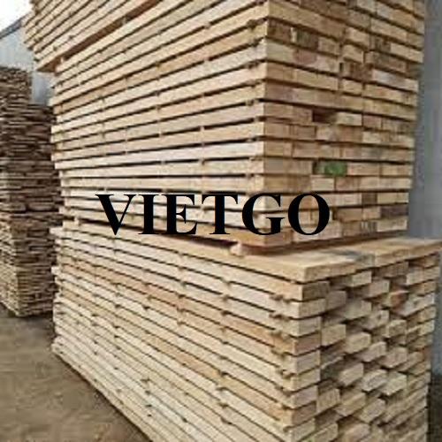Cơ hội xuất khẩu 3 container 40ft gỗ keo xẻ hàng tháng sang thị trường Malaysia