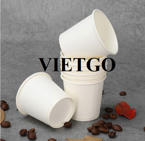 Opportunity to annually export more than 68,000,000 pieces of paper cups and plastic lids to the US market