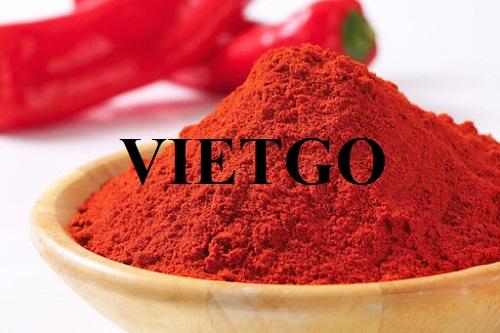 Cơ hội xuất khẩu bột ớt sang thị trường Maroc