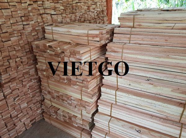 Xưởng gỗ tại Hàn Quốc nhập khẩu 10 container 40ft gỗ keo xẻ hàng tháng cho dự án pallet