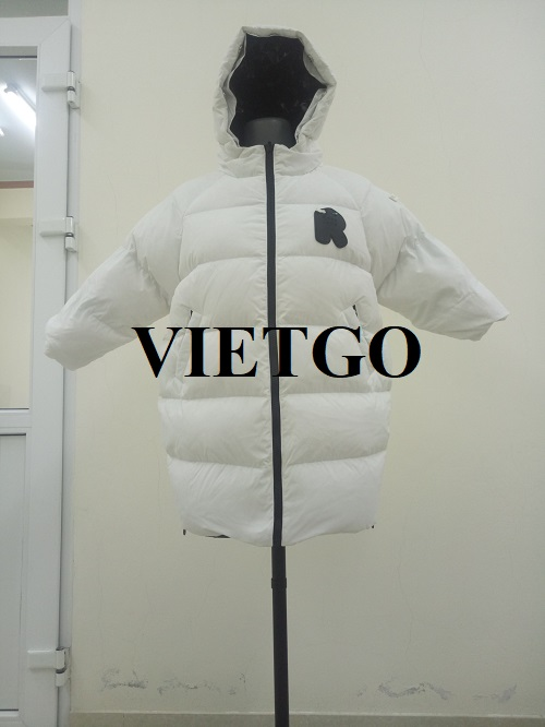 Opportunity to export long down jacket to the Korean market