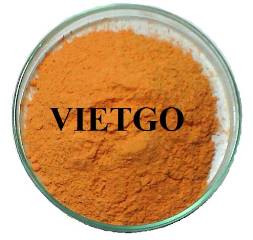 Cơ hội xuất khẩu 1 container 20ft bột hương mỗi tháng sang thị trường Ấn Độ