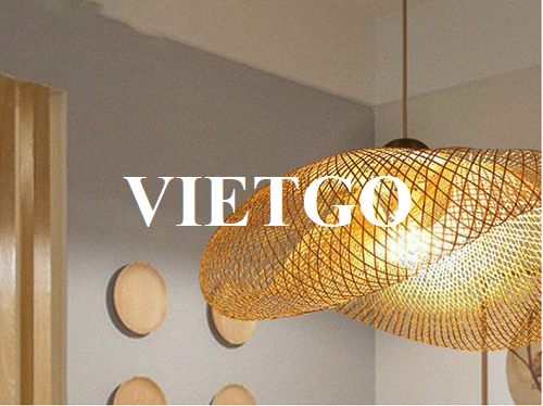 Opportunity to provide bamboo and rattan light covers for a businessman from Israel