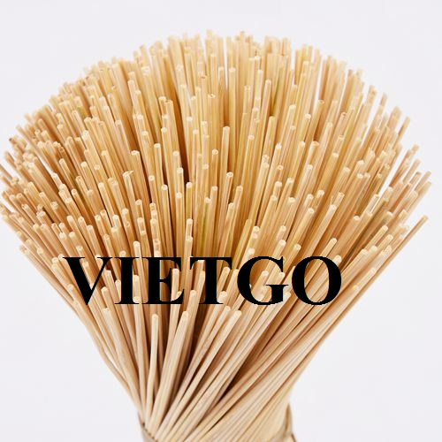 Opportunity to export 1 container of 20ft feet of bamboo sticks per month to the Indian market