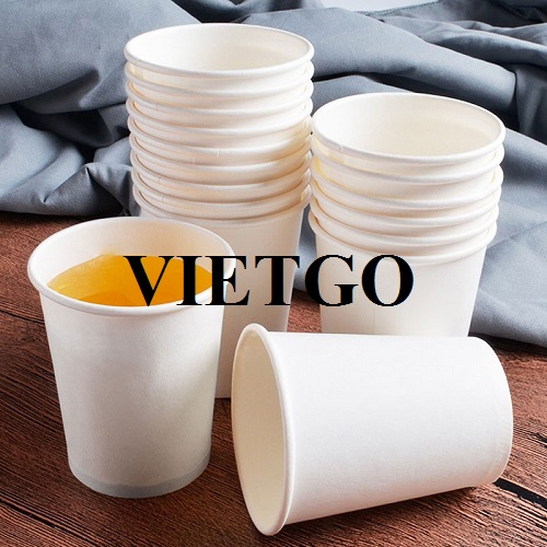 Opportunity to export paper cups for an Oman business man