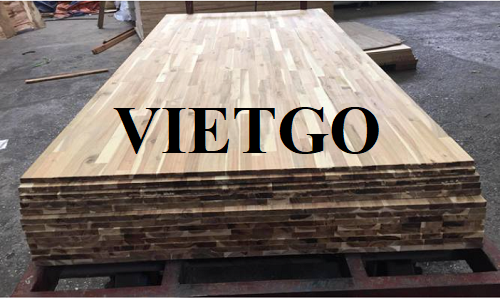 Opportunity to export acacia finger joint boards monthly to the Iranian market