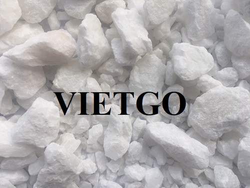 Opportunity to export 100.000 tons of limestone per month to the Indian market