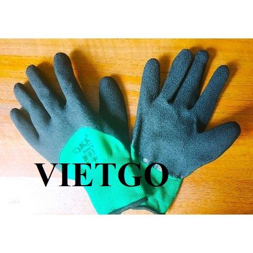 Cơ hội xuất khẩu mặt hàng găng tay lao động hàng tháng sang thị trường Sri Lanka