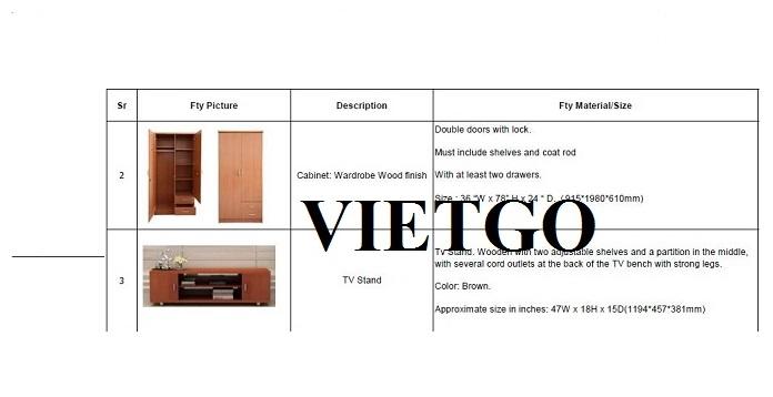 Cơ hội xuất khẩu đồ nội thất gỗ sang thị trường Dubai