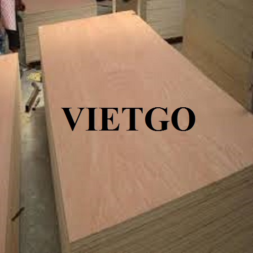 Opportunity to regularly export plywood to the UAE market