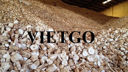 Opportunity to export cassava chips to the Chinese market