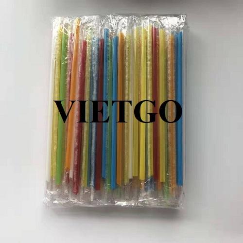 (Gấp) Cơ hội cung cấp ống hút nhựa cho nhà nhập khẩu và phân phối dừa tươi đa quốc gia có trụ sở chính tại Việt Nam