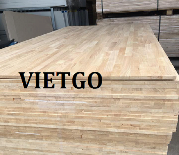 Opportunity to regularly export rubber finger joint boards and acacia finger joint boards to the Indian market