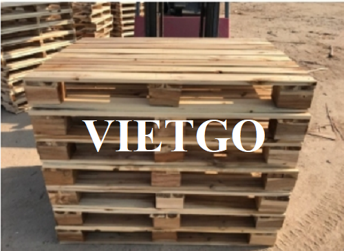 Opportunity to export regularly 4-way wooden pallets to the Saudi market