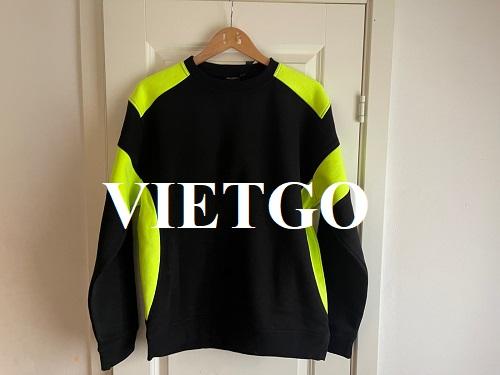 Cơ hội cung cấp áo phông dài tay thể thao cho vị khách hàng đến từ Thụy Điển