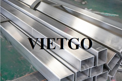 Opportunity to export 100 tons of stainless steel of all kinds per month to the Indian market