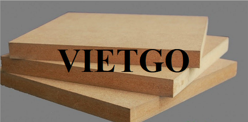 Opportunity to export 12,000m3 of MDF boards to the Iran market within 1 year
