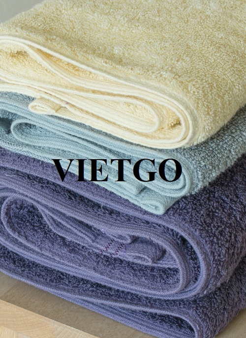 Opportunity to export cotton towels to Jordan market
