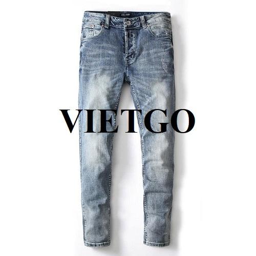 Opportunity to export men's jeans to Jordan market