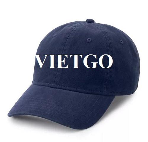 Cơ hội xuất khẩu sản phẩm mũ lưỡi trai cho doanh nghiệp đến từ Hoa Kỳ