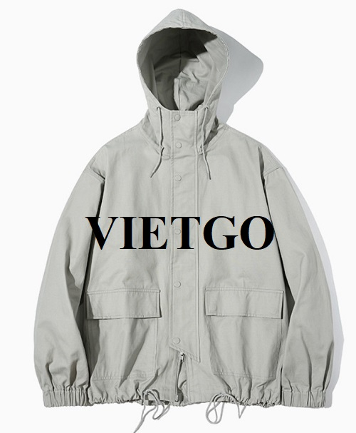 (Update information) Opportunity to export jackets for a potential Korean customer