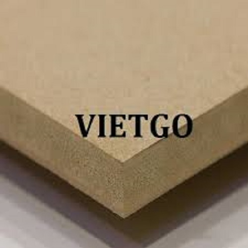 Opportunity to export 3 40'HC containers of MDF boards monthly to the Mexican market