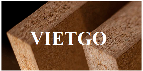Opportunity to export 3 40'HC containers of particle boards monthly to the Mexican market