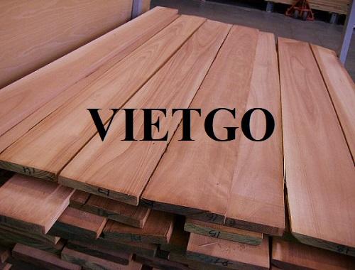 Cơ hội xuất khẩu 5 container 40'HC gỗ bạch đàn xẻ hàng tháng từ doanh nghiệp sản xuất cửa gỗ lâu năm tại Malaysia