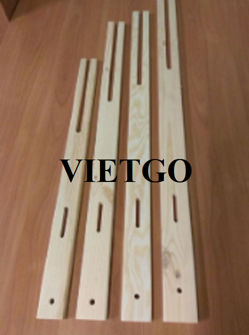 Opportunities to export monthly wooden sticks holding plywood to the UK market