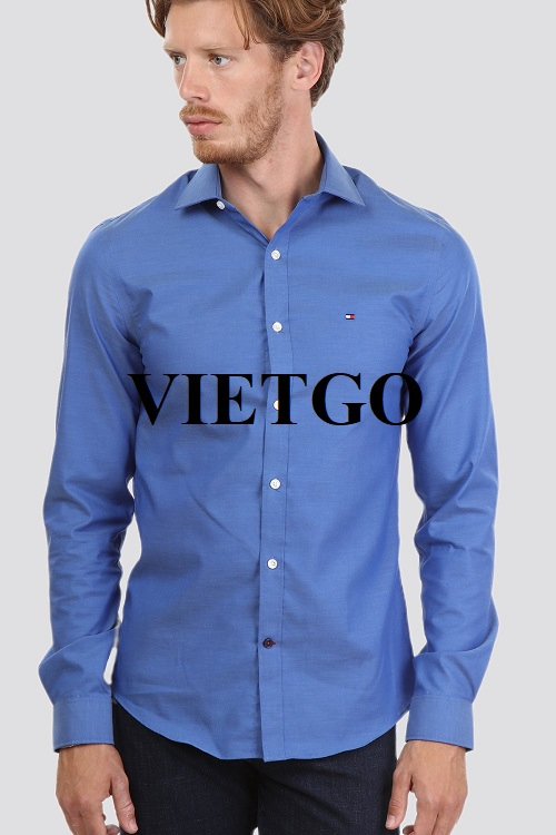 An opportunity to export a large number of shirts for a fashion company in Israel