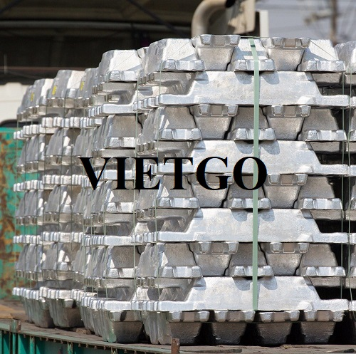 Opportunity to export 5.000 tons of aluminum ingots per month to the Dutch market