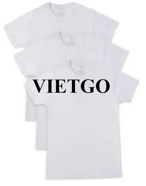 Opportunity to export T-shirts for a potential customer from the USA