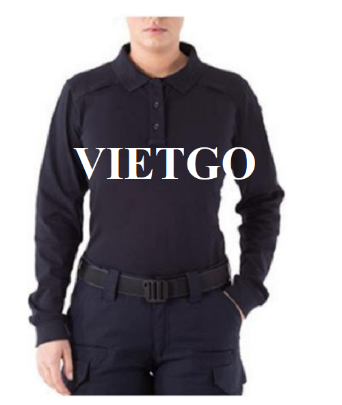 Opportunity to export Polo shirt for a potential customer from the US