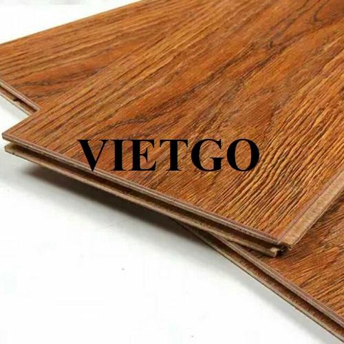 (Gấp) Cơ hội xuất khẩu 6 container 40'HQ ván sàn gỗ công nghiệp laminate hàng năm sang thị trường Mỹ