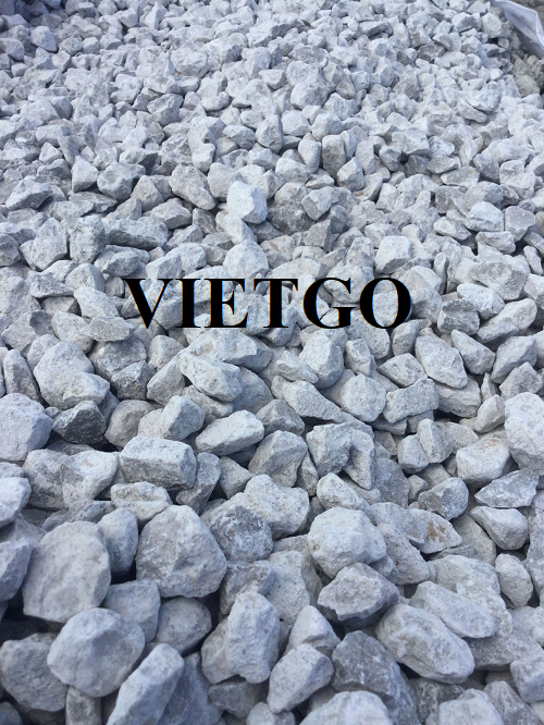 Opportunity to export 50,000 tons of limestone per month to the Indian market