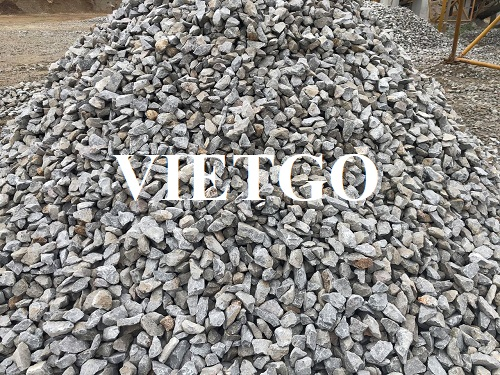 Opportunity to export 50.000 tons of crushed stone per month to Bangladesh market