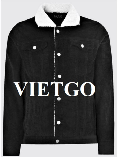 Opportunity to export men's fashion jackets to the UK market