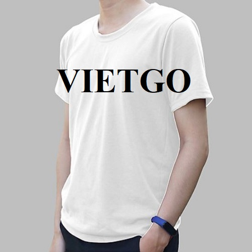 Opportunity to export men's fashion T-shirt to the UK market
