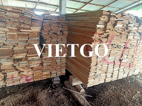 Opportunity to export teak timber to the Chinese market