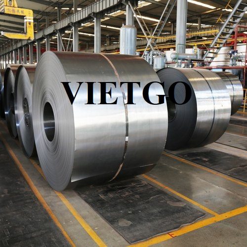 Opportunity to supply from 1,250 to 2,500 tons of steel coils to a construction company in the US