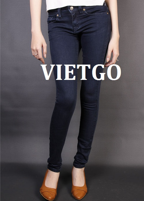 Opportunity to export fashion Jeans to the UK market
