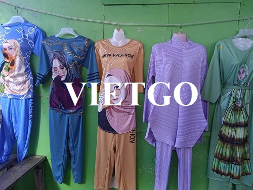 Opportunity to export women's clothing for a fashion shop owner in Malaysia