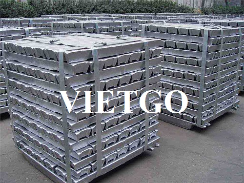 Opportunity to export 500 tons of aluminum ingots per month to the Chinese market