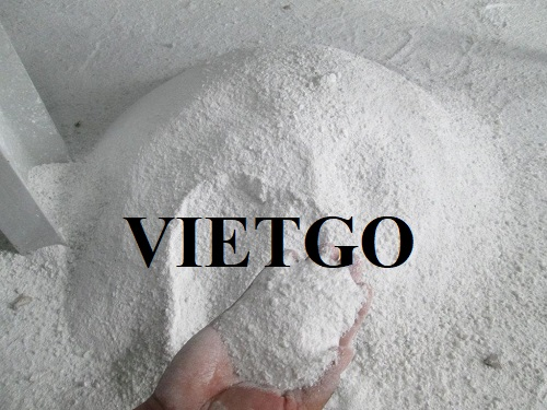 Opportunity to export 1 container 20ft of calcium carbonate per month to India market