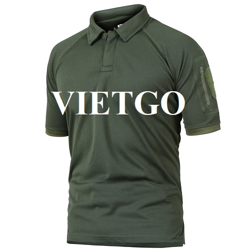 Opportunity to export Polo shirts to the Mexican market