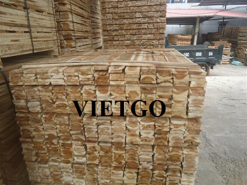 Opportunity to export acacia sawn timbers to the South Korean market