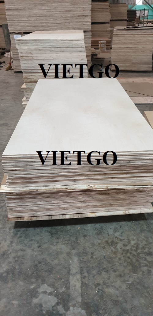 Opportunity to export plywood to Myanmar market