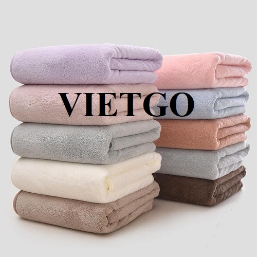 Opportunity to export cotton towels to the US market