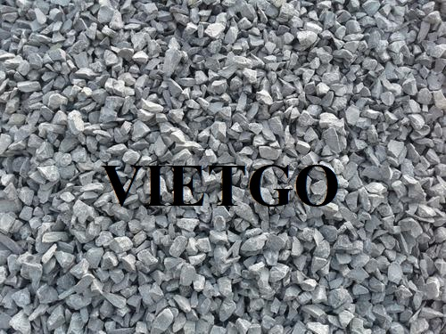 Opportunity to export 48.000 tons of black crushed stone per month to Bangladesh market