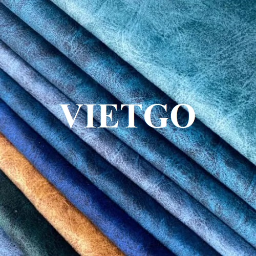 Opportunity to export velvet fabric for a customer from Germany